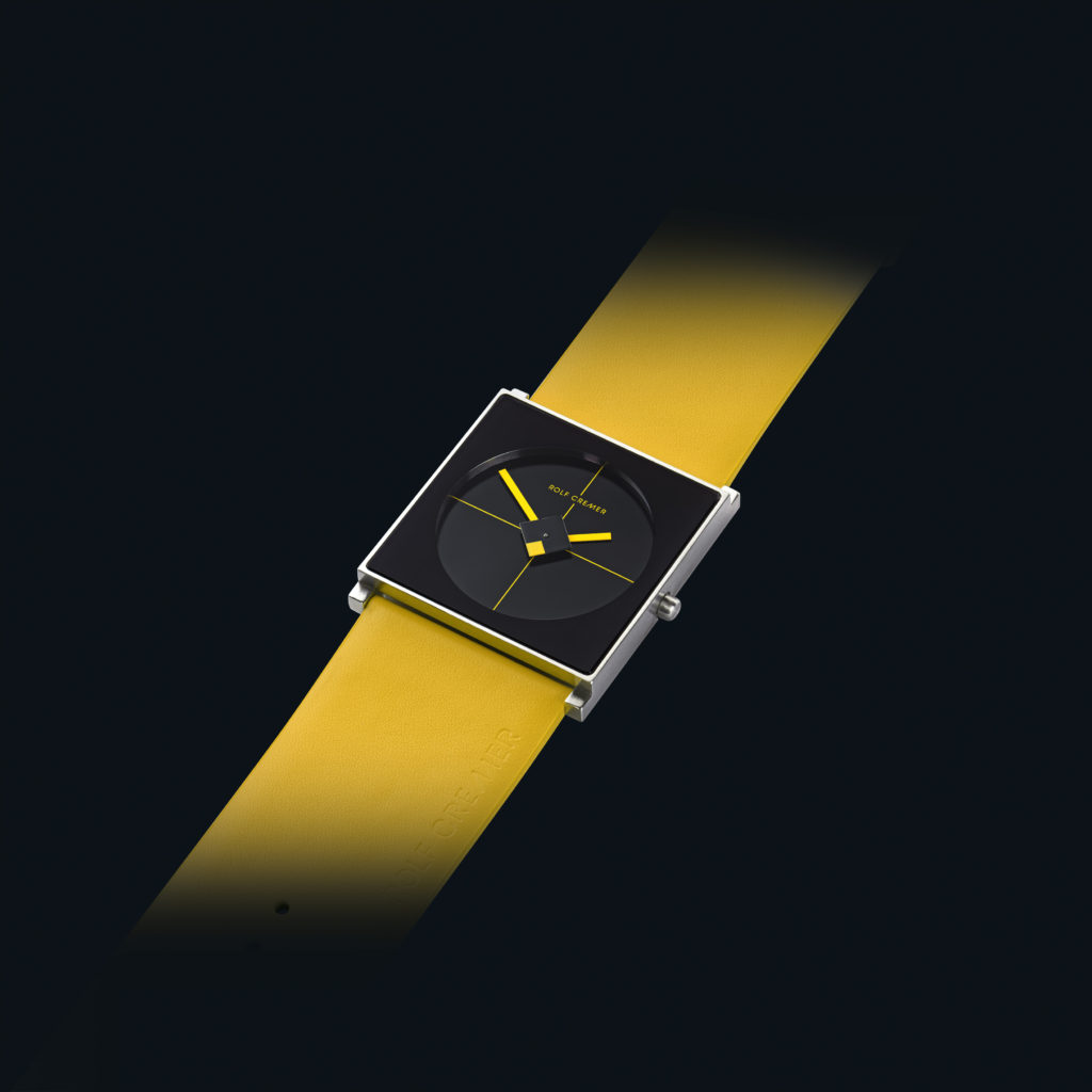 cube the new model of rolf cremer design watch